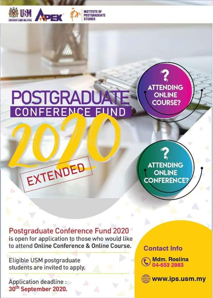 20200629 Poster Postgraduate Conference Fund 2020 Extended