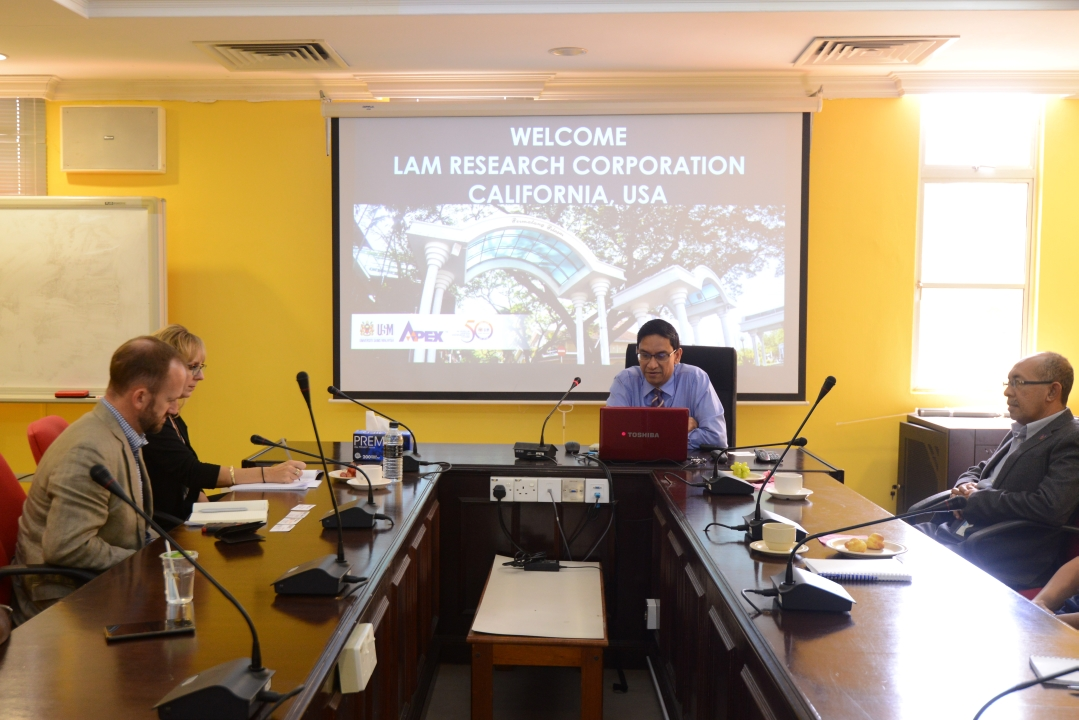 Visit from Lam Research Corporation 02