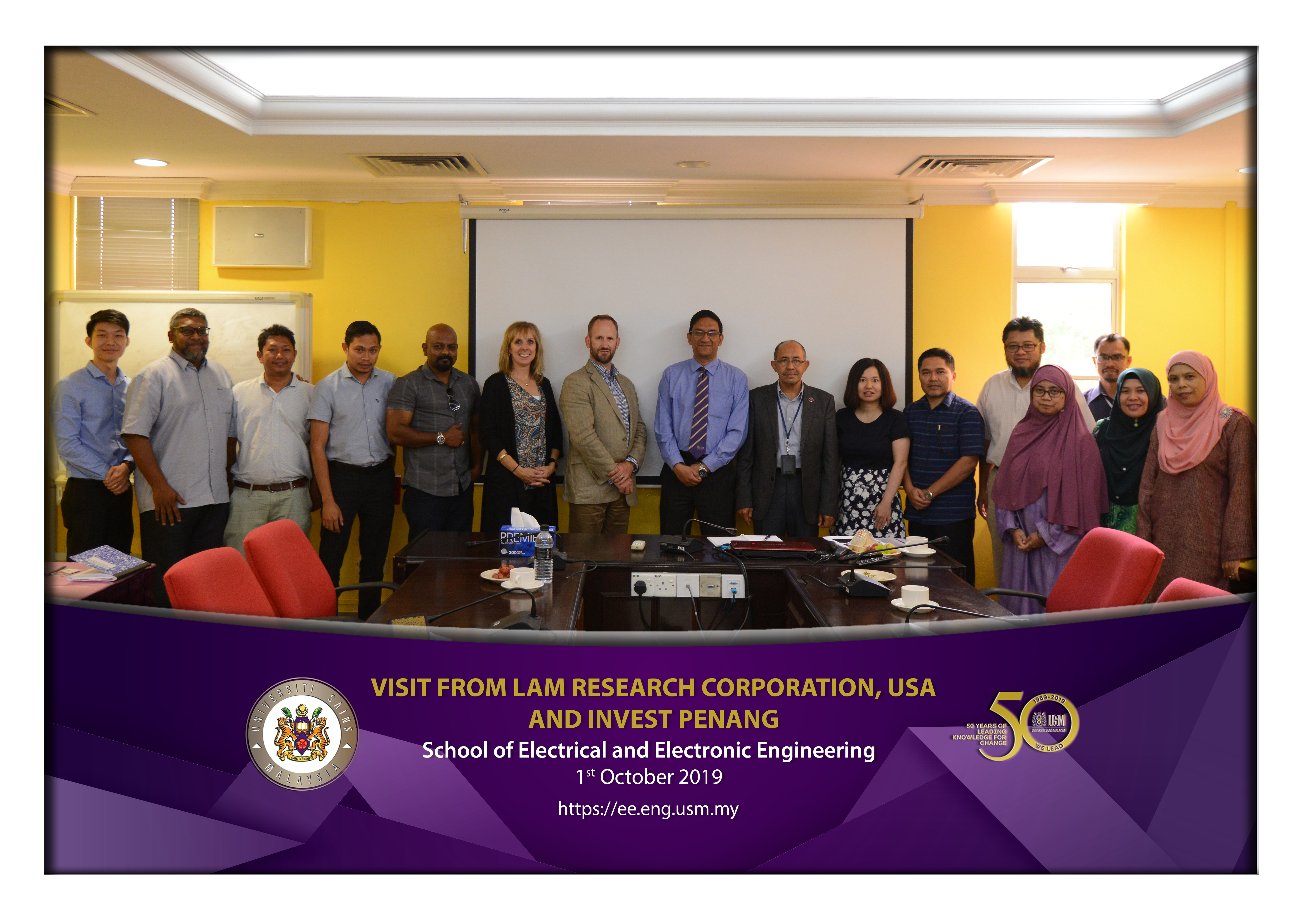 Visit from Lam Research Corporation USA and Invest Penang
