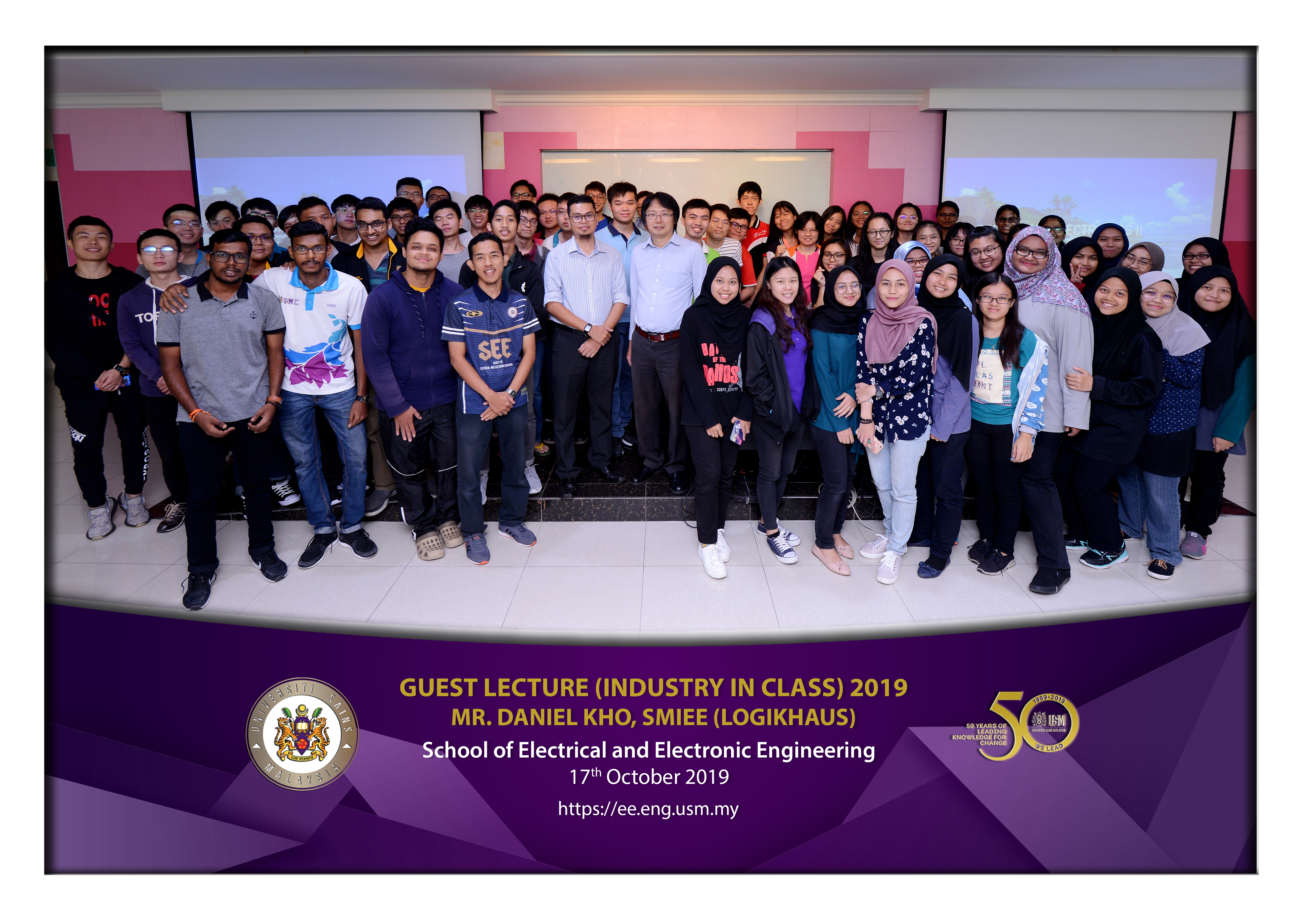 Guest Lecture Mr Daniel Kho Industry in Class 2019